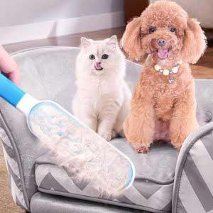 Kisállat (kutya, macska) szőr eltávolító kefe