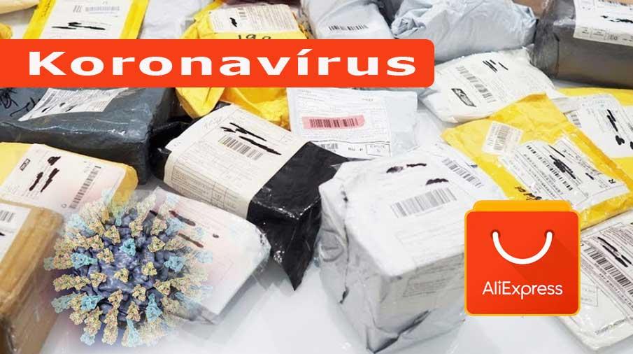 Koronavírus csomag Kínából