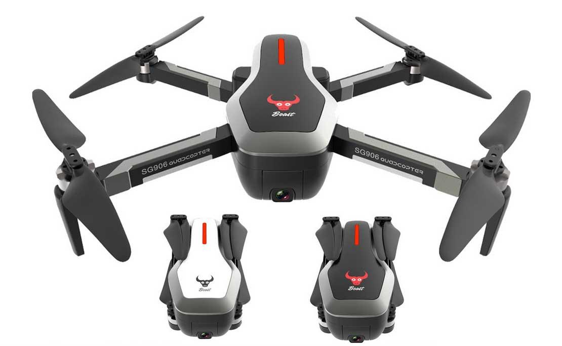 Legjobb 4K kamerás összecsukható drónok - Beast SG906