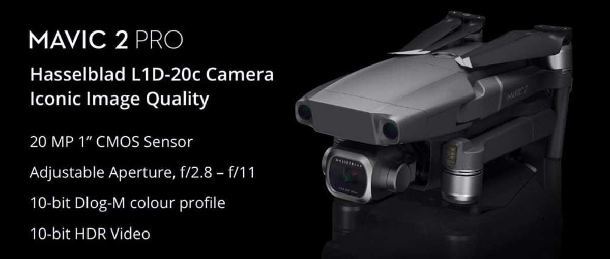 Legjobb 4K kamerás összecsukható drónok - DJI MAVIC 2 Pro