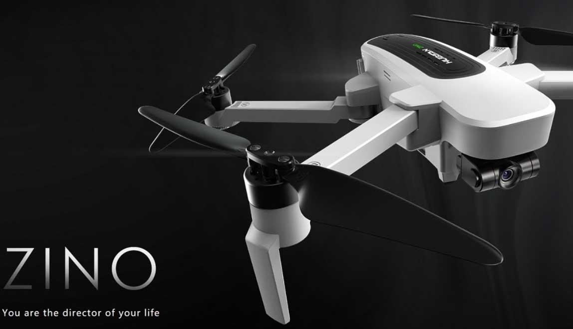Legjobb 4K kamerás összecsukható drónok - Hubsan H117S Zino