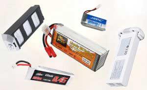 LiPo drón akkumulátor típusok