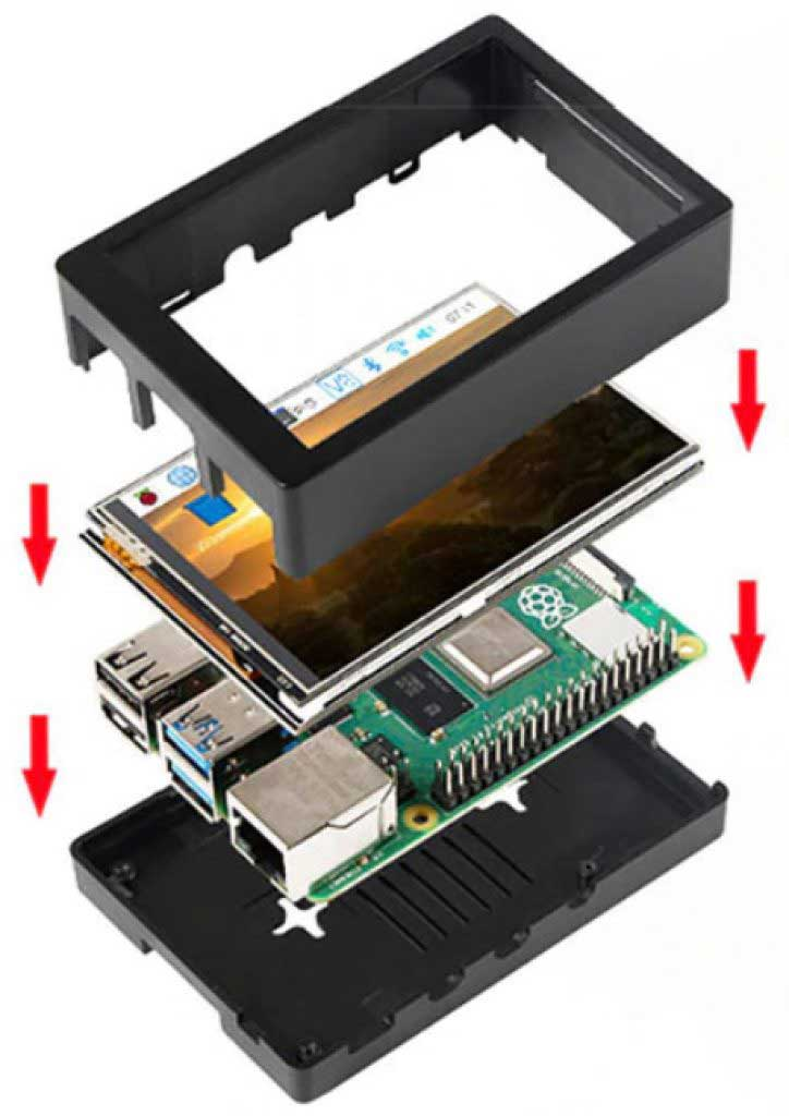 Mini PC összeszerelése