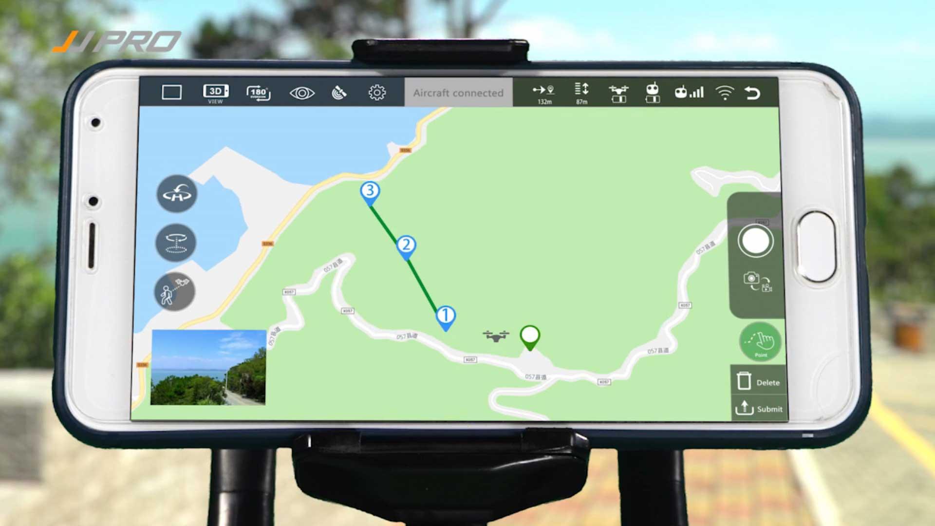 drón teszt Intuitív repüléstervezés
