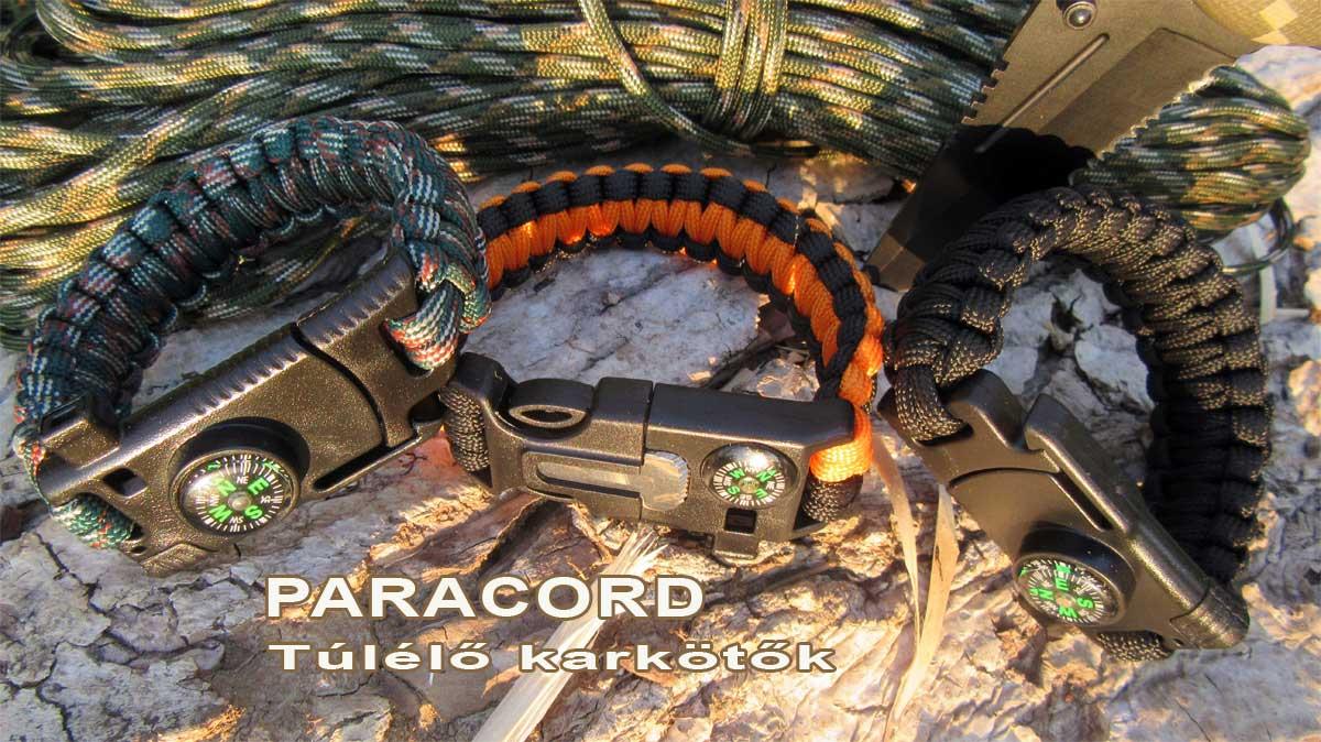 paracord karkötő vagy túlélő karkötő