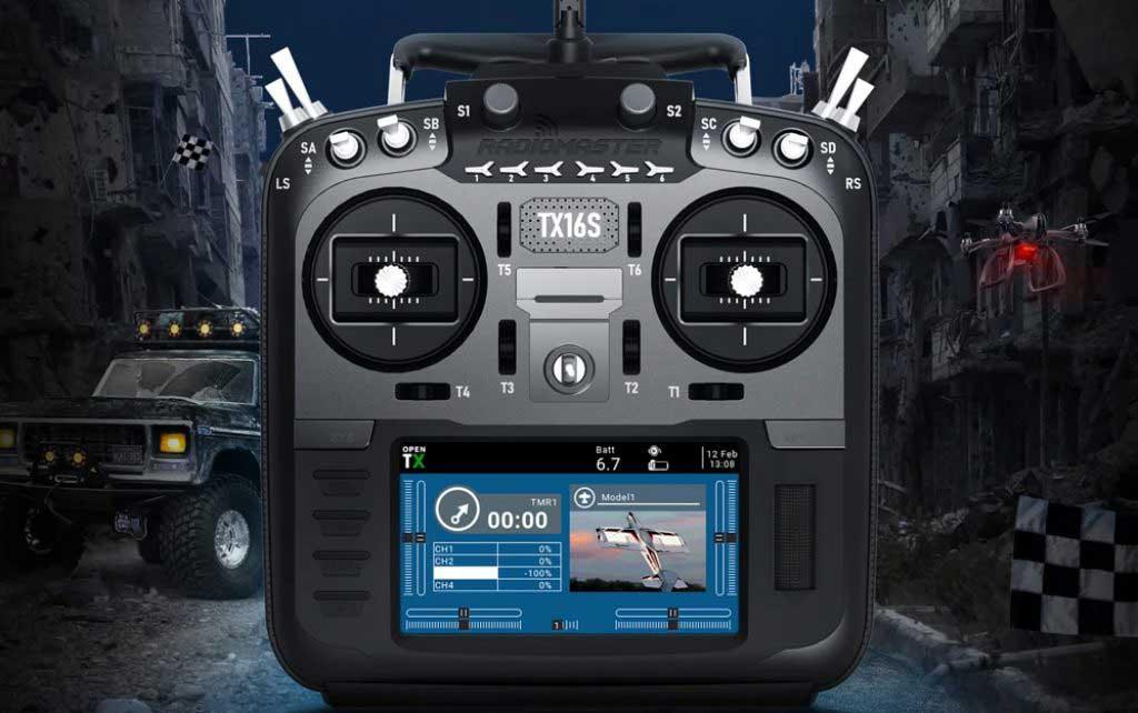 RadioMaster TX16S Hall Sensor Gimbal RC távirányító