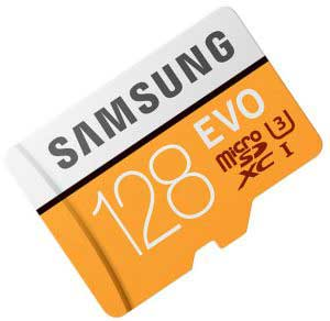 SAMSUNG Micro SD Memory Card 128gb