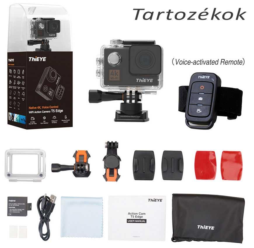 ThiEYE T5 Edge 4K akciókamera tartozékok