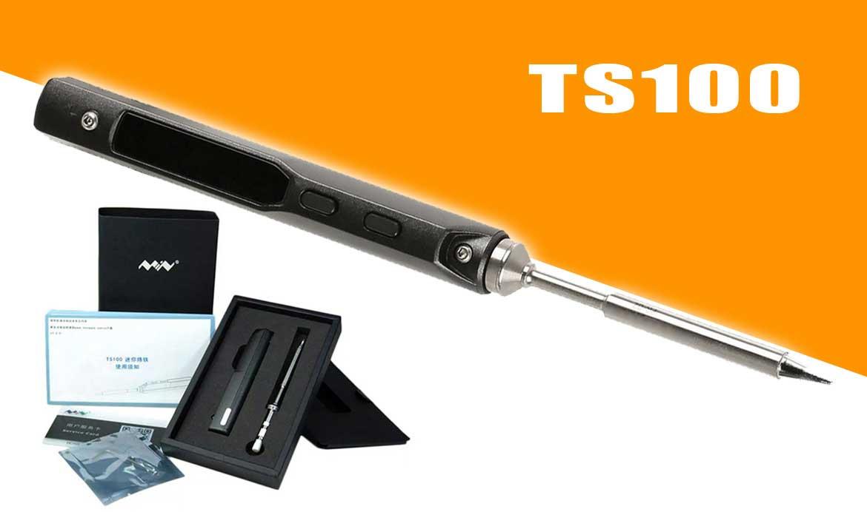 TS100 digitális programozható forrasztópáka