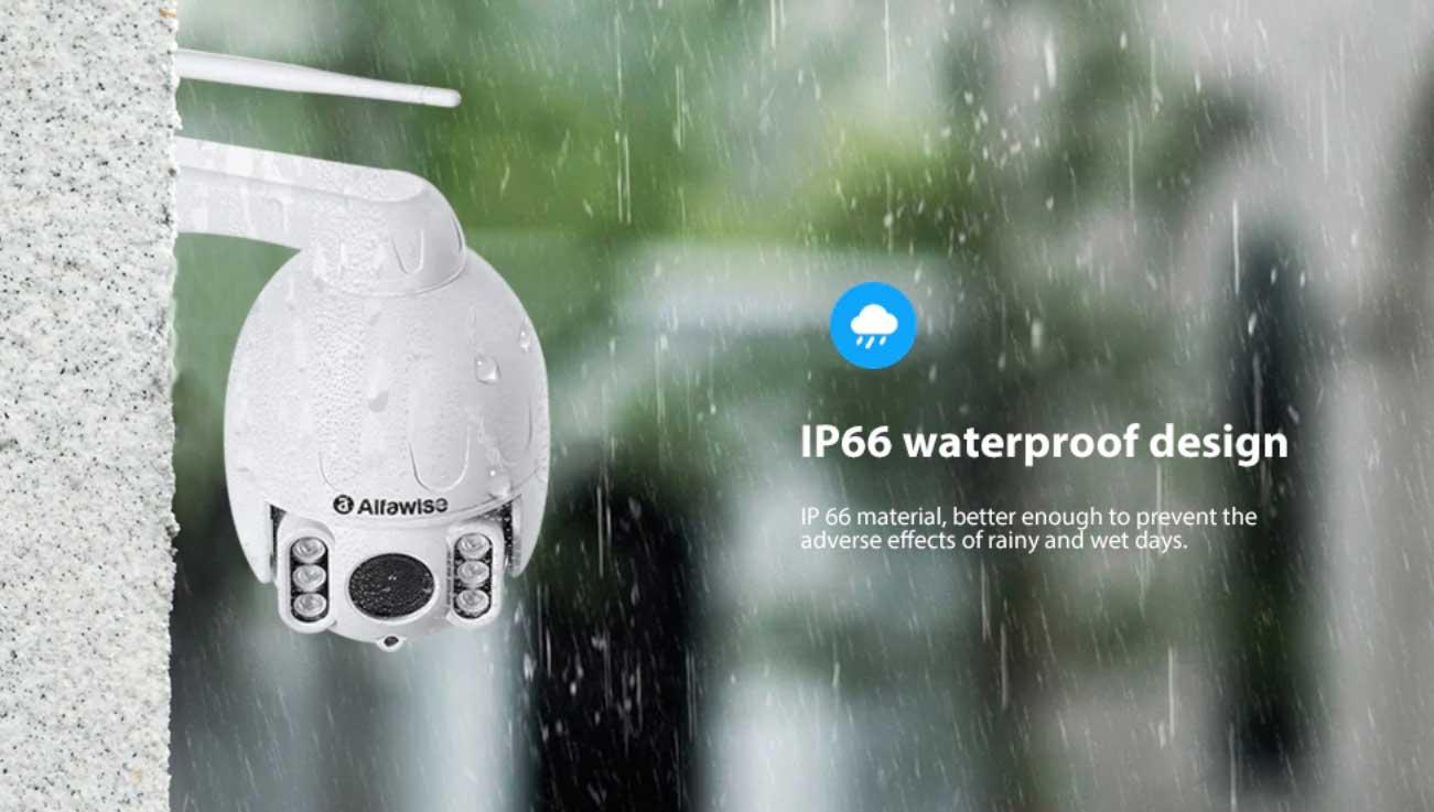 vízálló WiFi IP kamera Alfawise SD07W