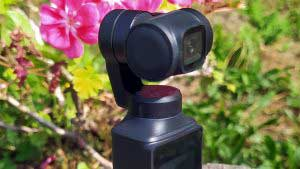 Xiaomi FIMI PALM mini kézi kamera gimbal teszt